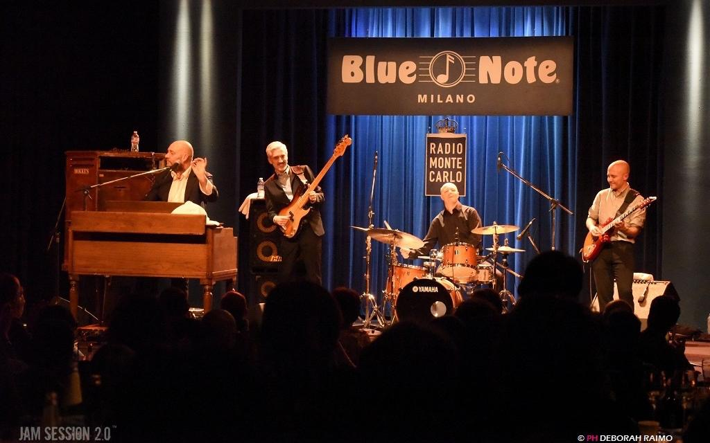 James Taylor Quartet live al Blue Note Milano