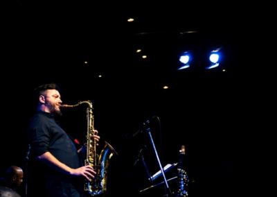 E.J. Strickland Quintet live al Blue Note di Milano ©Matteo Betto
